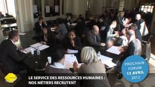 Le service des ressources humaines : Nos métiers recrutent