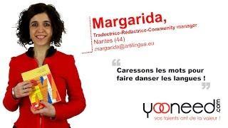Traductrice et rédactrice français - espagnol - catalan à Nantes (44000) avec Margarida - Yooneed