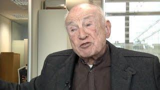Edgar Morin, rédacteur en chef de l'Humanité