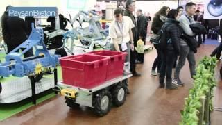 Robot assistant Effibot de Effidence au Sival 2016