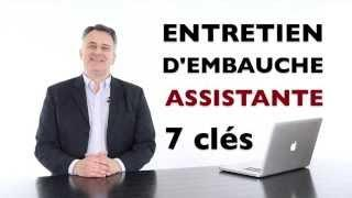Coaching entretien d'embauche assistante