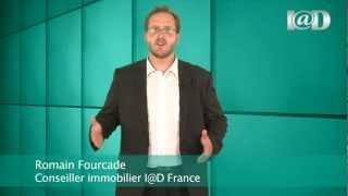 Romain Fourcade votre mandataire immobilier I@D France