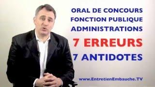 Préparer l'Oral du Concours de Rédacteur Territorial