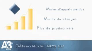 A3COM Télésecrétariat - Vidéo de nos services